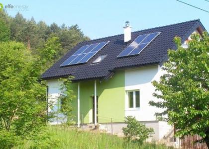 Fotovoltaická elektrárna VOLTA ON na rodinném domě v Michalovcích na Slovensku