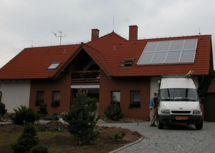 Solární systém TWI realizovaný firmou KONEX