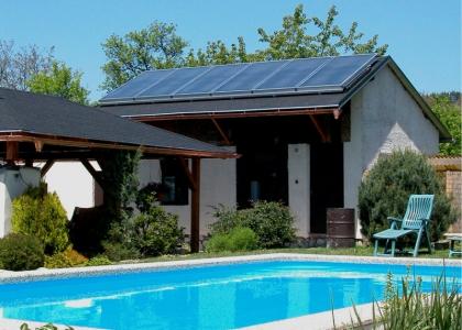 Solární systém TWI pro ohřev vody a bazénu