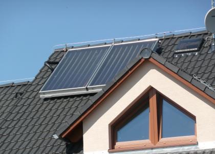 Solární systém TWI na ohřev vody v Mladé Boleslavi