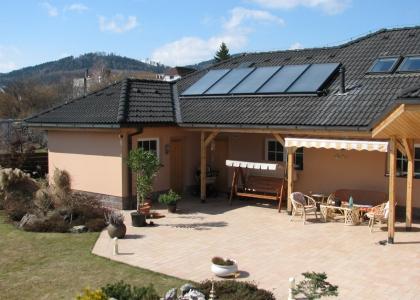 Solární systém TWI pro ohřev vody