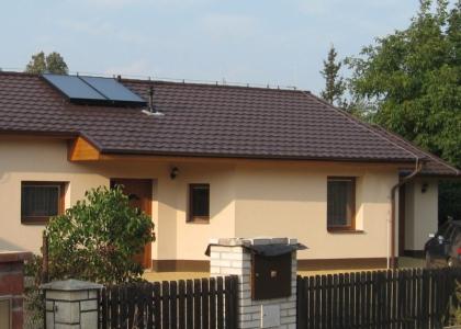 Solární systém TWI ve Staré Vsi n.Ondřejnicí