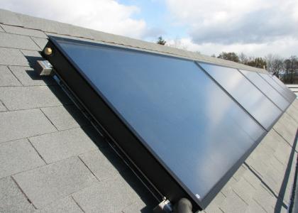 Solární kolektory TWI Sun Wing T3 v horizontálním provedení