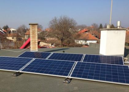 Fotovoltaická elektrárna VOLTA ON 3,24 kWp s přebytky energie do vody, okres Brno-venkov, ČESKO