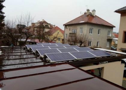 Fotovoltaická elektrárna VOLTA ON 3,71 kWp s přebytky energie do vody, okres Zvolen, SLOVENSKO