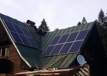 Fotovoltaická elektrárna VOLTA ON 3,71 kWp s přebytky energie do vody, okres Ružomberok, SLOVENSKO