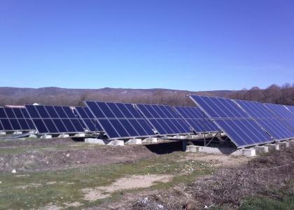 Solární kolektory Sun Wing T3 instalované ve Španělsku